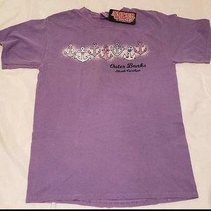 NWT Women's Super Wings OBX Medium T-Shirt